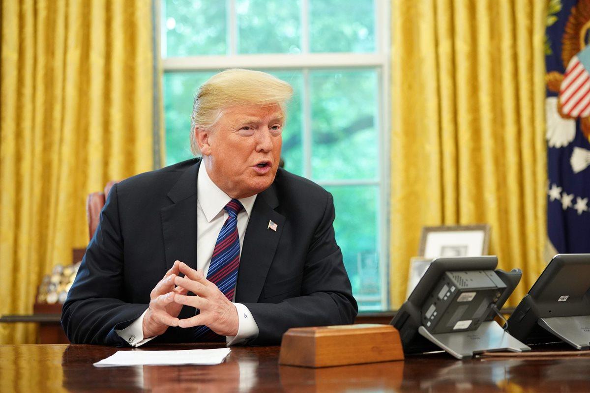Trump confirma un acuerdo con México sobre TLCAN y Canadá aún lo analiza