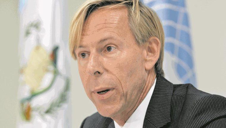 Anders Kompass, embajador de Suecia en Guatemala. (Foto Prensa Libre: Hemeroteca PL).