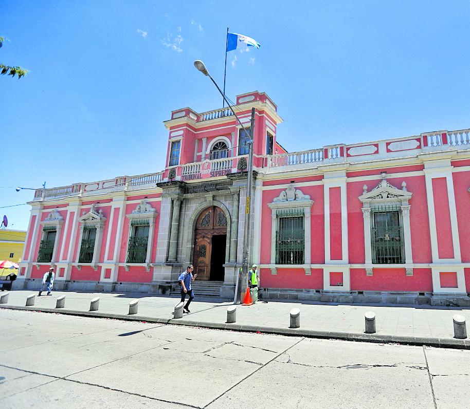 Edificio Tribunal Supremo Electoral (TSE). Fotografía Esbin Garcia