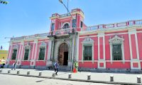 Edificio Tribunal Supremo Electoral (TSE). (Foto Prensa Libre: Hemeroteca PL)
