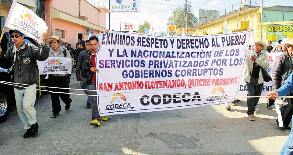 Grupo ha sido señalado por el robo y hurto de energía eléctrica en el occidente del país. (Foto Prensa Libre: Hemeroteca PL)