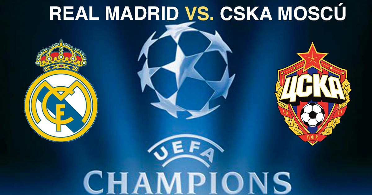 EN DIRECTO | Real Madrid vs CSKA Moscú