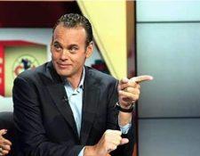 David Faitelson es uno de los comentaristas mexicanos más reconocidos. (Foto Prensa Libre: Hemeroteca PL)