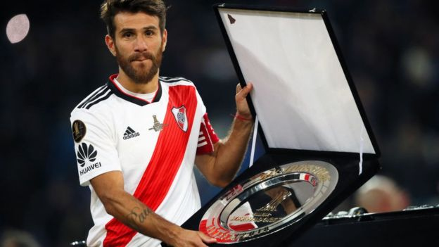 River Plate logró su cuarto trofeo de la Copa Libertadores. (GETTY IMAGES)