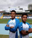 Mario Pacay y Williams Julajuj serán parte de los 21K de la Ciudad de Guatemala. (Foto Prensa Libre: Carlos Vicente)