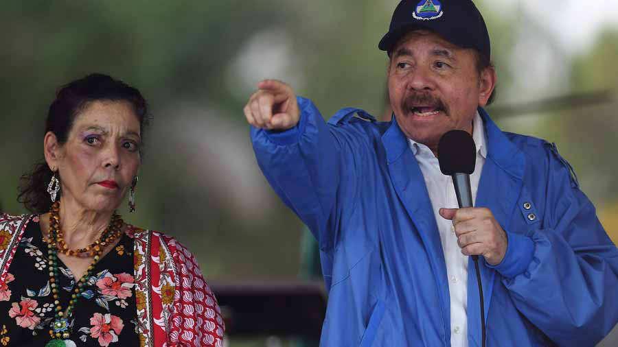 Estados Unidos sanciona a los círculos cercanos a Ortega, incluida su esposa, Rosario Murillo, por la represión en Nicaragua. (Foto: Hemeroteca PL)