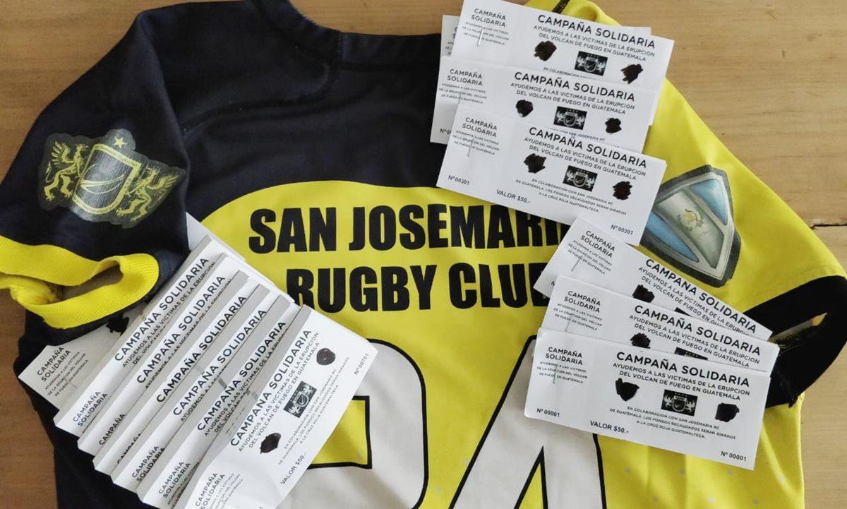 La final del torneo Super 12 de rugby en Mar del Plata, Argentina, recaudó fondos a beneficio de los damnificados por la erupción del Volcán de Fuego. (Foto Prensa Libre: Cortesía Lautaro Renati)