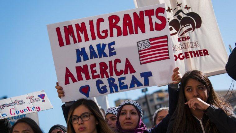 Las políticas antimigrantes de Donald Trump han causado masivas protestas en EE. UU. (Foto: Hemeroteca PL)