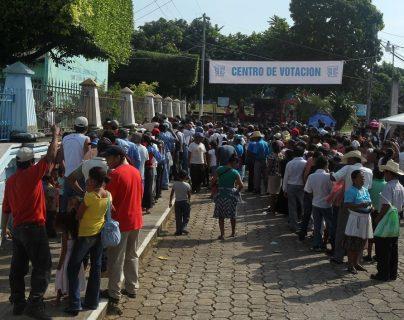 2011: guatemaltecos son llamados a las urnas electorales