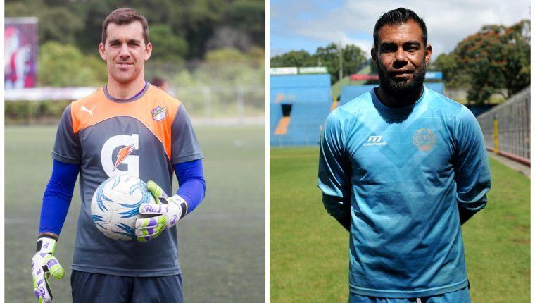 Javier Irazún y Paulo César Motta buscarán ser determinantes en el partido del domingo entre Comunicaciones y Municipal. (Foto Prensa Libre).