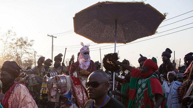 El emir es un líder musulmán de gran tradición e influencia en Nigeria. AFP