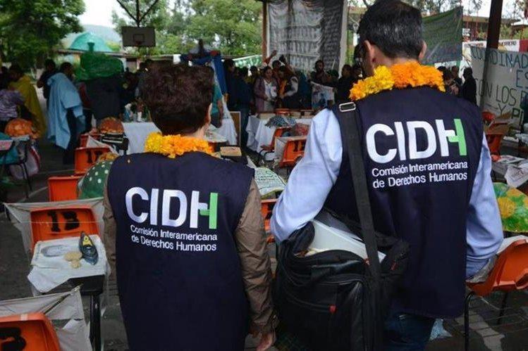 La CIDH presentó el informe sobre la visita in loco que la comisión hizo el año pasado en Guatemala. (Foto Prensa Libre: Hemeroteca PL)