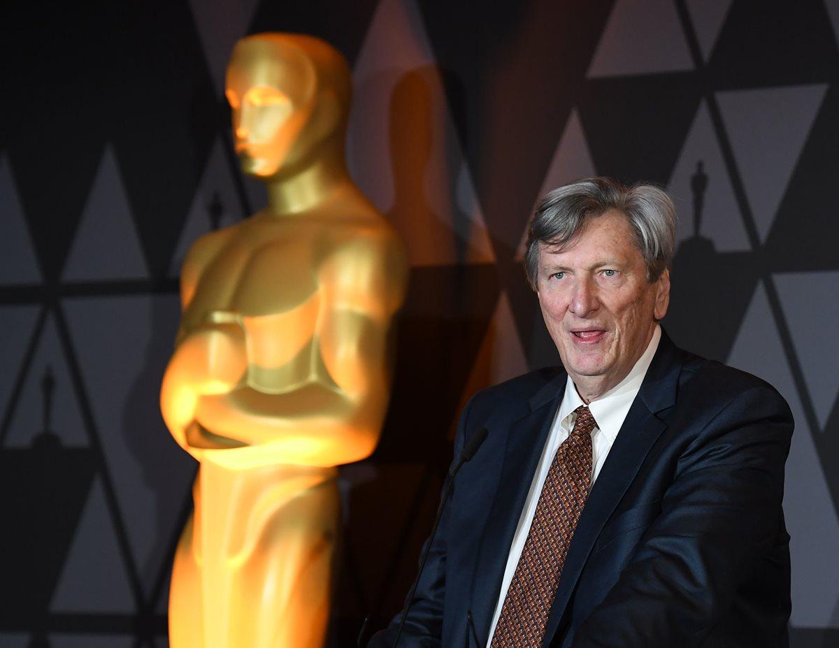 El presidente de la Academia de Hollywood, John Bailey, es señalado de acoso sexual. Por el momento la investigación es interna. (Foto Prensa Libre: AFP)