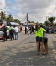 El ataque contra el alcalde de Zacapa, Julio Alberto Enríquez Sánchez, ocurrió en la aldea La Majada, a unos 15 metros de su vivienda. (Foto Prensa Libre: Mario Morales)