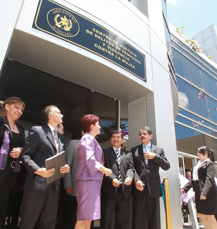 El 24 de agosto de 2012 se inauguró el Centro de Justicia de Delitos de Femicidio y Otras Formas de Violencia contra la Mujer. (Foto: Hemeroteca PL)