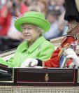 Reina Isabel II de Inglaterra celebra su 90 cumpleaños en Londres. (Foto Prensa Libre: AFP)