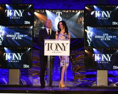 Bruce Willis y Mary-Louise Parker anunciaron a los postulados. (Foto Prensa Libre: AFP)