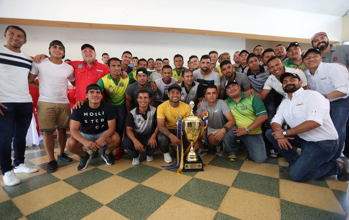 Guastatoya de la mano de Amarini Villatoro conquistó su primer título de la Liga Nacional en el Clausura 2018. (Foto Prensa Libre: Hemeroteca PL)