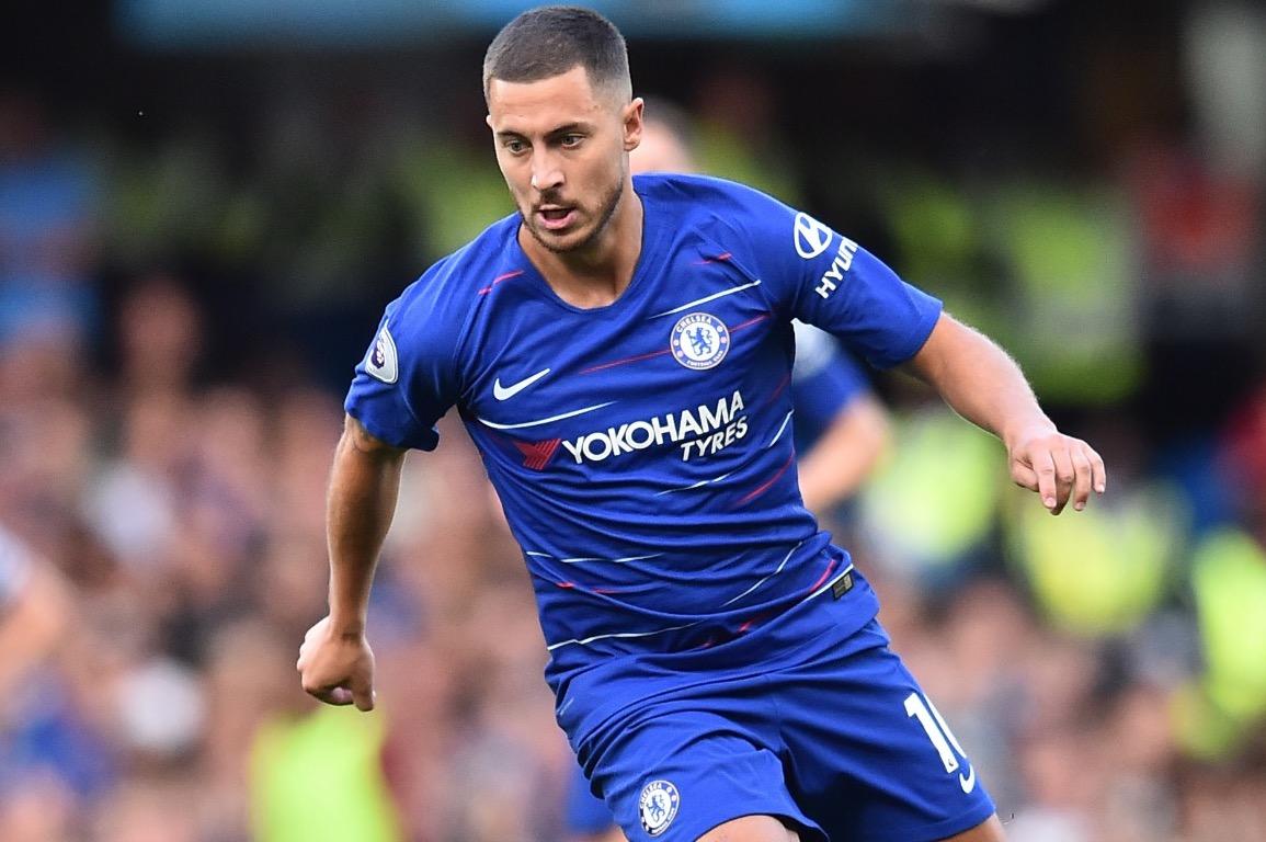 Eden Hazard es pretendido por el Real Madrid, pero el jugador del Chelsea ha declarado que no dejará al club inglés. (Foto Prensa Libre: AFP)