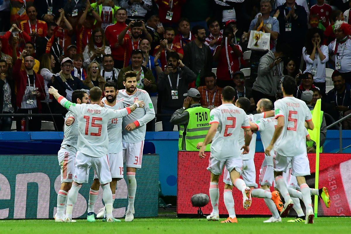 España consigue una sufrida victoria contra Irán y vuelve a la vida en Rusia 2018