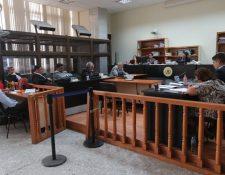 Otras seis personas acusadas en el caso La Línea piden salir de prisión. (Foto Prensa Libre: Érick Ávila)