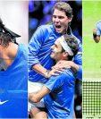 Los tenistas Rafael Nadal y Roger Federer tuvieron un año cargado de emociones. (Foto Prensa Libre: Hemeroteca PL)