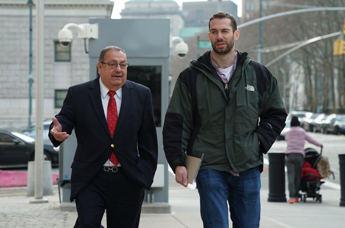 Rafael Salguero ayudó a la justicia estadounidense otorgando información valiosa sobre el caso FifaGate. (Foto Prensa Libre: AFP)