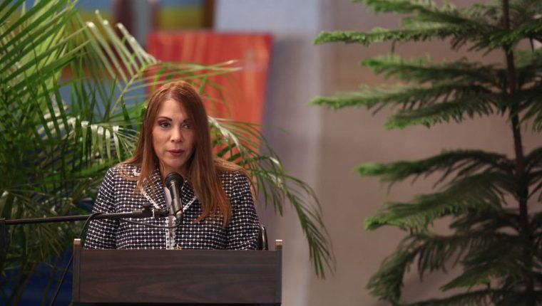 Roxana Ávila fue separada del cargo de administradora del Centro Cultural Miguel Ángel Asturias (Foto Prensa Libre: Ministerio de Cultura y Deportes).