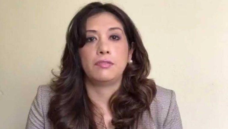 La jueza Michelle Dardón estuvo el fin de semana en el Juzgado de Turno de Femicidio y Violencia contra la Mujer. (Foto Prensa Libre: Hemeroteca)