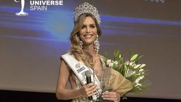 Ángela Ponce se coronó como Miss Universo España 2018. (Foto Prensa Libre: @orgbemiss / INSTAGRAM )