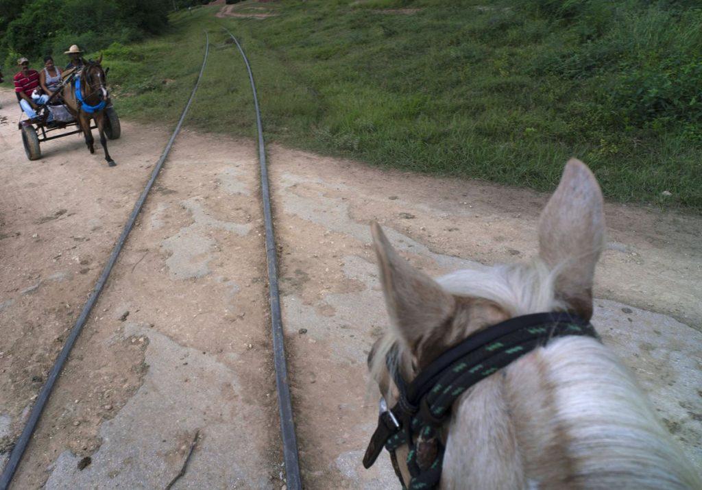 Cuba, primer país latinoamericano en tener un sistema ferroviario a mediados del siglo XIX.