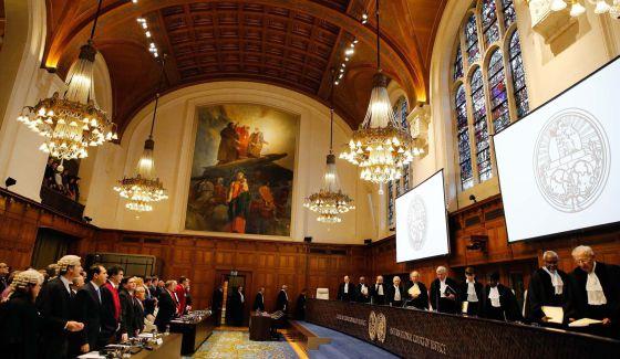 Sede de la CIJ, que deberá resolver litigio entre Guatemala y Belice, en La Haya, Holanda. (Foto: Hemeroteca PL)