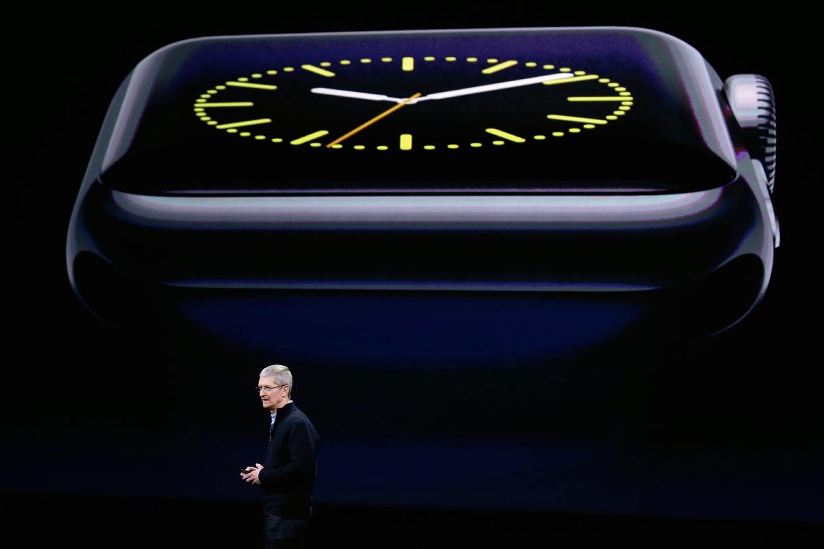 Apple lanza su reloj inteligente Apple Watch