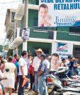El 20 de septiembre pasado, diputados electos inauguraron en Retalhuleu la segunda sede departamental de FCN-Nación, lo cual causó cierto descontento.