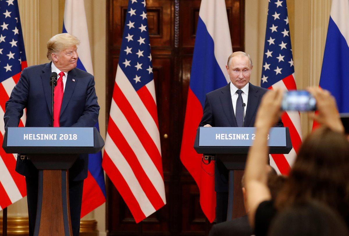 """Trump lamenta que la trama rusa haya """"mantenido separados"""" a EE. UU. y Rusia"""