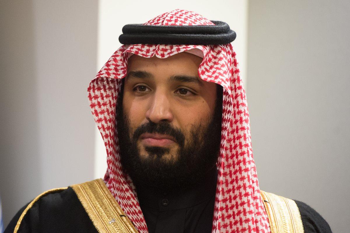 Mohammed bin Salman, el príncipe heredero Saudí, reconoció el derecho que tiene Israel de un Estado, pese a no tener relaciones diplomáticas. (Foto Prensa Libre: AFP)