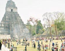 El número de turistas ha aumentado en los últimos años. (Foto Prensa Libre: Hemeroteca PL)