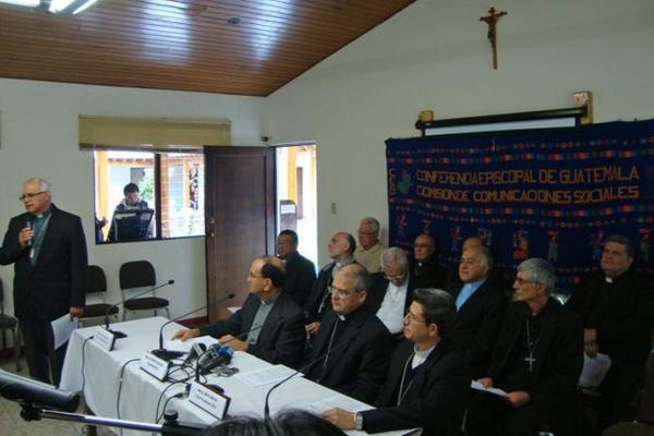 """Este viernes la Conferencia Episcopal de Guatemala pidió a crear un nuevo modelo de desarrollo y una nueva visión de la economía. (Foto Prensa Libre: CEG)<br _mce_bogus=""""1""""/>"""