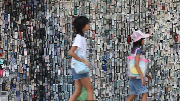 Solo el 20% de los residuos electrónicos desechados son reciclados.(ALAMY)