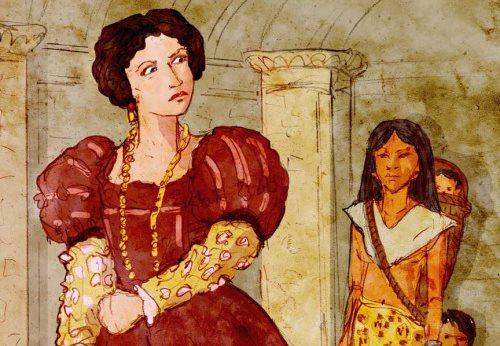 1541: Beatriz de la cueva asume como gobernadora