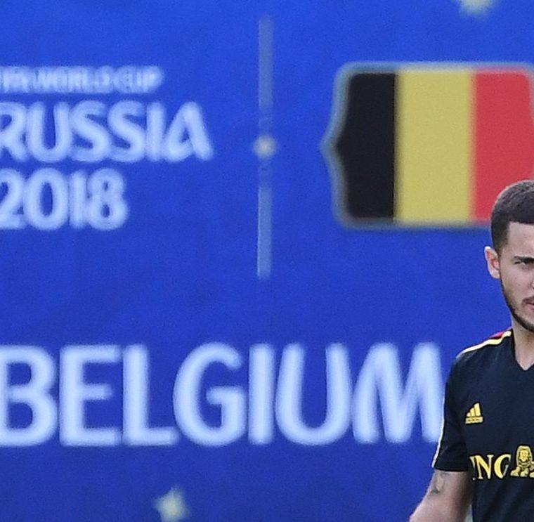 Eden Hazard ha sido uno de los jugadores clave para Bélgica en el Mundial de Rusia 2018. (Foto Prensa Libre: AFP)