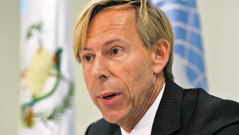 Vicecanciller Pablo García reiteró que embajador sueco llamó a la sociedad guatemalteca en un lenguaje no apropiado. (Foto Prensa Libre: Hemeroteca PL)