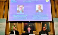 Paul Romer fue galardonado con el premio Nobel de Economía 2018. (Foto Prensa Libre: Getty Images)