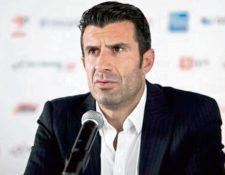 Luis Figo propone un cambio en la dirigencia en la Fifa. (Foto Prensa Libre: Hemeroteca PL)