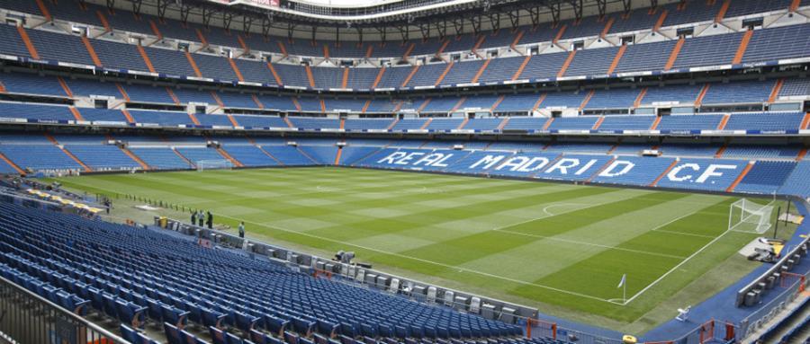 El estadio Santiago Bernabéu estará disponible para el 9 de diciembre, fecha en la que River y Boca podrían definir al campeón de la Copa Libertadores 2018. (Foto Prensa Libre: Hemeroteca PL)
