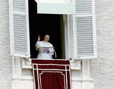 El papa Francisco se refirió a Romero durante el Angelus.(Foto Prensa Libre: AP).