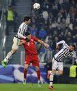Los jugadores del Bayern y Juve estan ansiosos por el partido. (Foto Prensa Libre: Twitter Juventus)