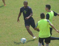 Thompson fue una pieza clave en el título de Antigua GFC. (Foto Prensa Libre: Hemeroteca PL)