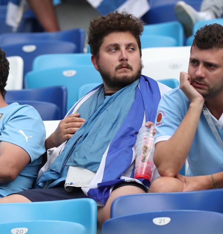 Uruguay cayó ante Francia en cuartos de final del Mundial de Rusia 2018. (Foto Prensa Libre: EFE)