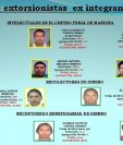 Condenan a más de ochenta personas por varios delitos en El Salvador. (Foto Prensa Libre: ACAN-EFE)